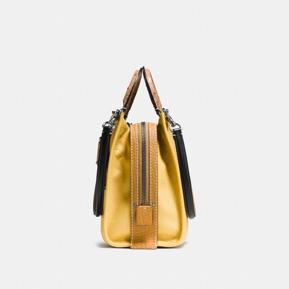 ROGUE BAG IN COLORBLOCK OSTRICH - Alternate View A1