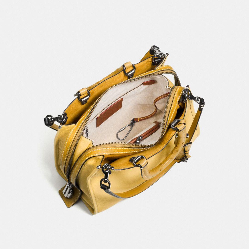 ROGUE BAG IN COLORBLOCK OSTRICH - Alternate View A3