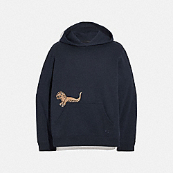 SIGNATURE REXY HOODIE - NAVY - COACH 3850