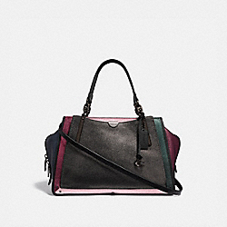 DREAMER 36 IN COLORBLOCK - METALLIC GRAPHITE MULTI/PEWTER - COACH 38842