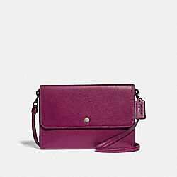 TRIPLE CROSSBODY - GM/DARK BERRY - COACH 38980