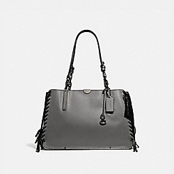 DREAMER TOTE 36 - HEATHER GREY/PEWTER - COACH 39235