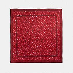 VALENTINE PRINT SQUARE - 1941 RED - COACH 39386