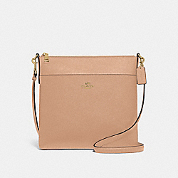 KITT MESSENGER CROSSBODY 26 - GD/BEECHWOOD - COACH 39408