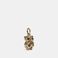 OWL CHARM - MULTI/GOLD - COACH 39509