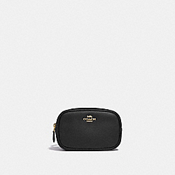 BELT BAG - BLACK/GOLD - COACH 39938