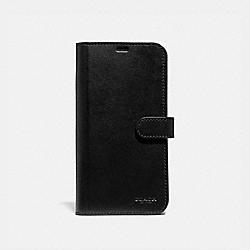 IPHONE XS MAX FOLIO - BLACK - COACH 39953