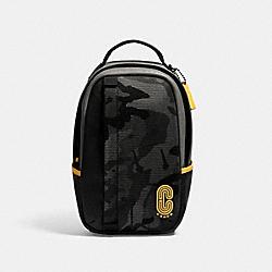 EDGE PACK WITH CAMO PRINT - QB/BLACK MULTI - COACH 3995