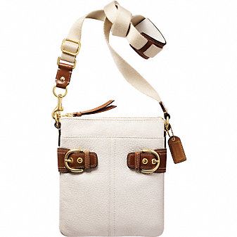 Coach Official Site - COACH SOHO LEATHER SWINGPACK :  downtown messenger bag leather gifts accessories