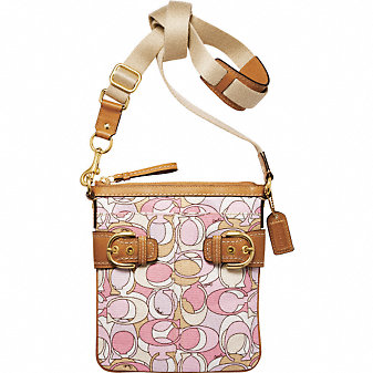 Coach Official Site - COACH SOHO MULTI PRINT SWINGPACK :  downtown messenger bag leather gifts accessories