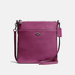 KITT MESSENGER CROSSBODY - GM/DARK BERRY - COACH 41320