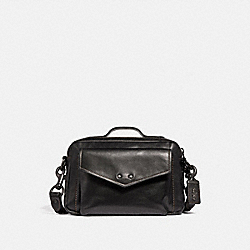 JAXSON BAG 28 - BLACK/BLACK COPPER - COACH 41394