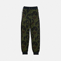 TRACK PANTS - WILD BEAST FLORAL - COACH 43436