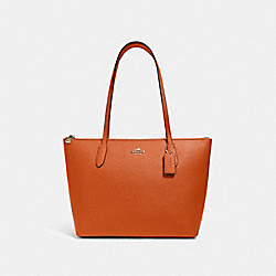 ZIP TOP TOTE - IM/SEDONA - COACH 4454