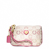 Waverly Hearts Wristlet
