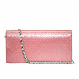 CHELSEA EMBOSSED PATENT SLIM ENVELOPE