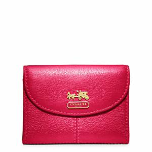 visitor Asks About Coach Madison Leather Flap Card Case