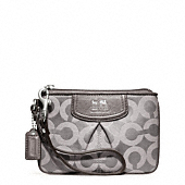MADISON OP ART SATEEN SMALL WRISTLET