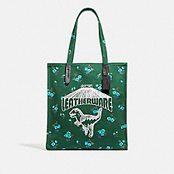 TOTE WITH REXY - V5/GREEN - COACH 47550