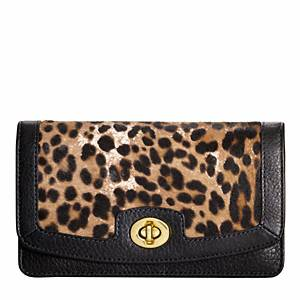 Coach - Legacy Pinnacle Clutch Wallet B4/multicolor