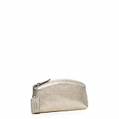 Legacy Metallic Leather Small Cosmetic Case