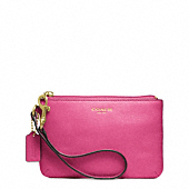 Saffiano Leather Small Wristlet