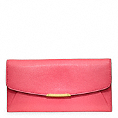 MADISON LEATHER SLIM ENVELOPE