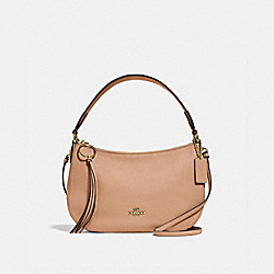 SUTTON CROSSBODY - GOLD/BEECHWOOD - COACH 52548