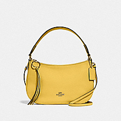 SUTTON CROSSBODY - GD/SUNLIGHT - COACH 52548