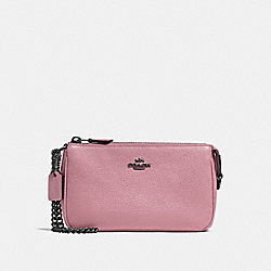 NOLITA WRISTLET 19 - ROSE/BRASS - COACH 53077