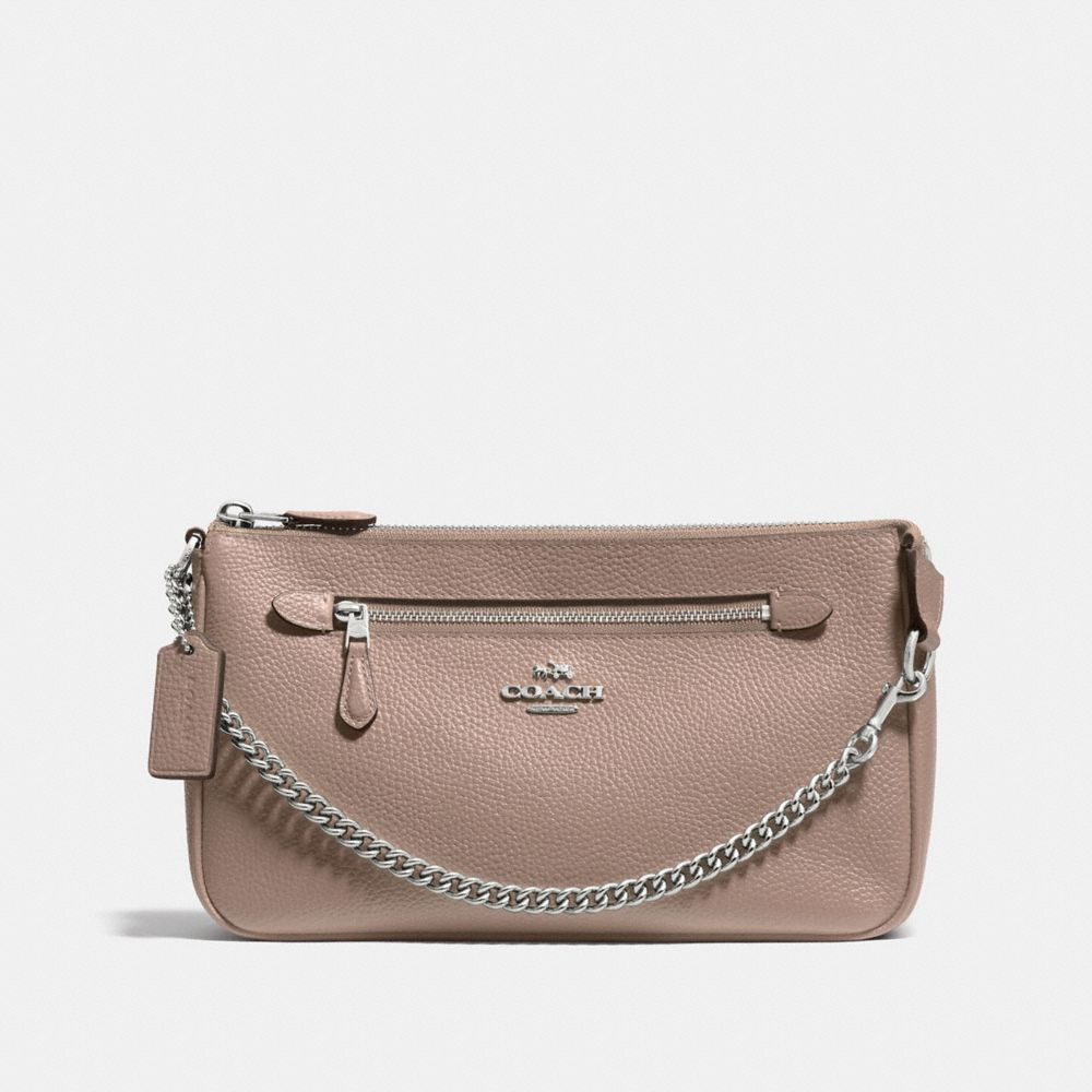 NOLITA WRISTLET 24 IN POLISHED PEBBLE LEATHER - Alternate View