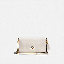 CROSSTOWN CROSSBODY - LIGHT GOLD/CHALK - COACH 53083