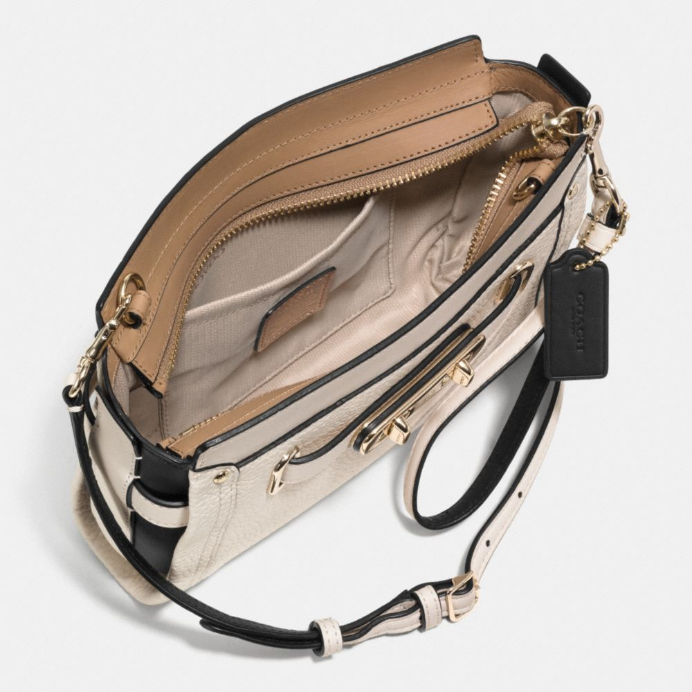 Coach Swagger Wristlet in Colorblock Leather - Alternate View A1