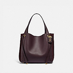 HARMONY HOBO - B4/OXBLOOD - COACH 53352