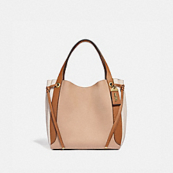 HARMONY HOBO IN COLORBLOCK - B4/BEECHWOOD - COACH 53353