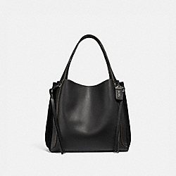 HARMONY HOBO 33 - BLACK/PEWTER - COACH 53356
