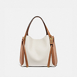 HARMONY HOBO 33 IN COLORBLOCK - B4/CHALK - COACH 53396
