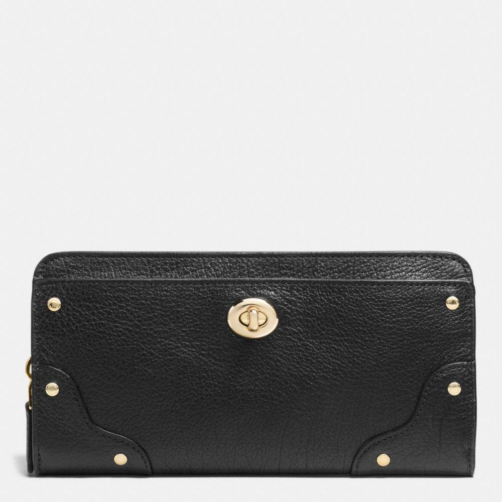 Mercer Accordion Zip Wallet in Grain Leather
