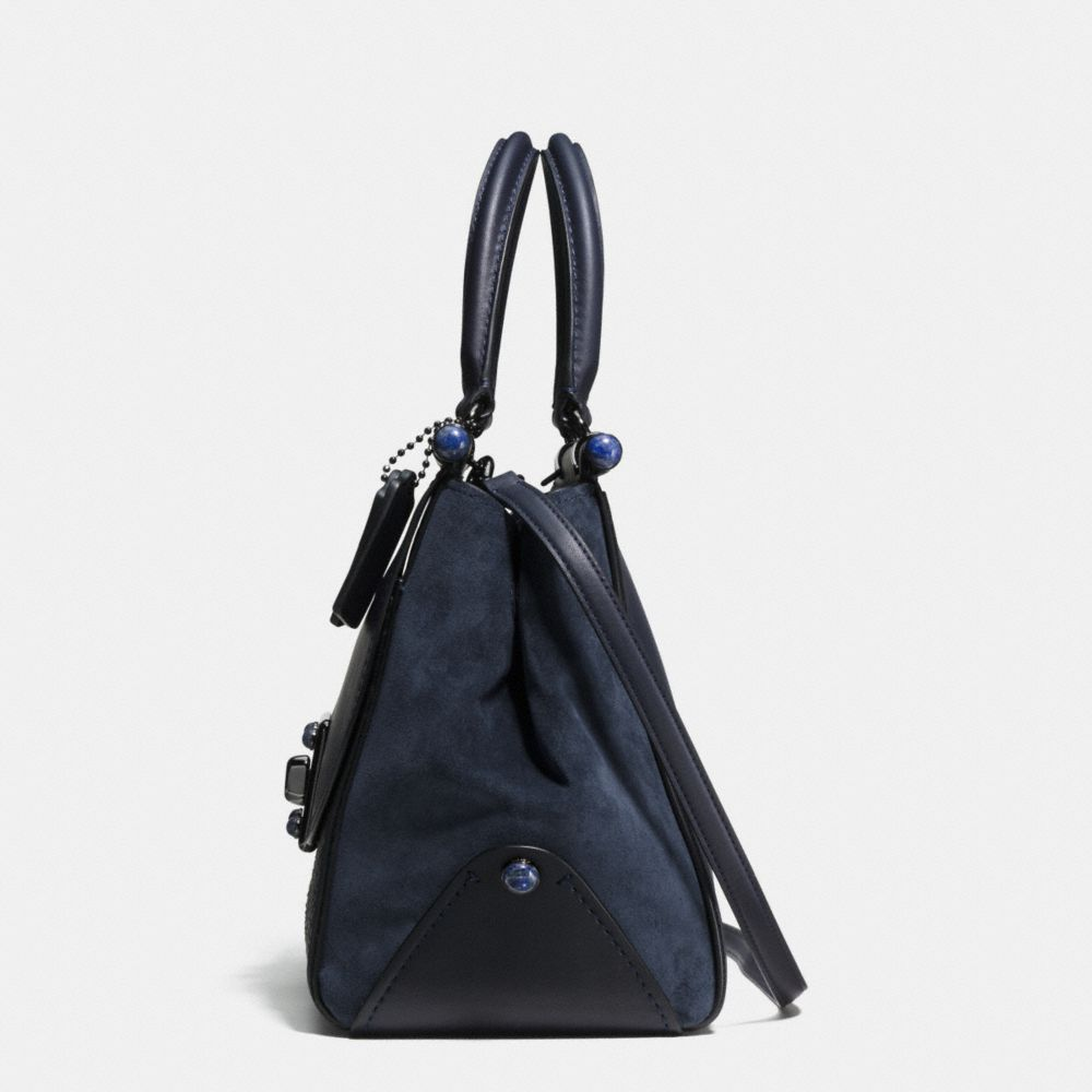 Coach Drifter Carryall in Snake Embossed Leather Alternate View 1