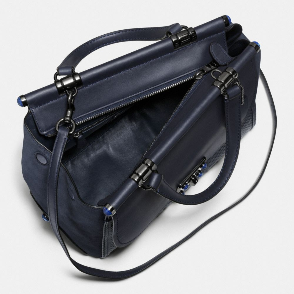 Coach Drifter Carryall in Snake Embossed Leather Alternate View 2