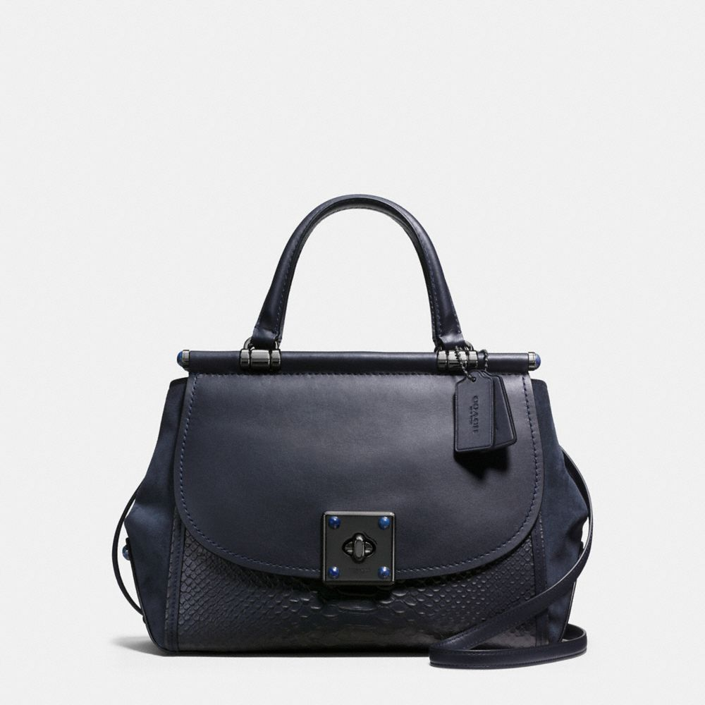 Coach Drifter Carryall in Snake Embossed Leather