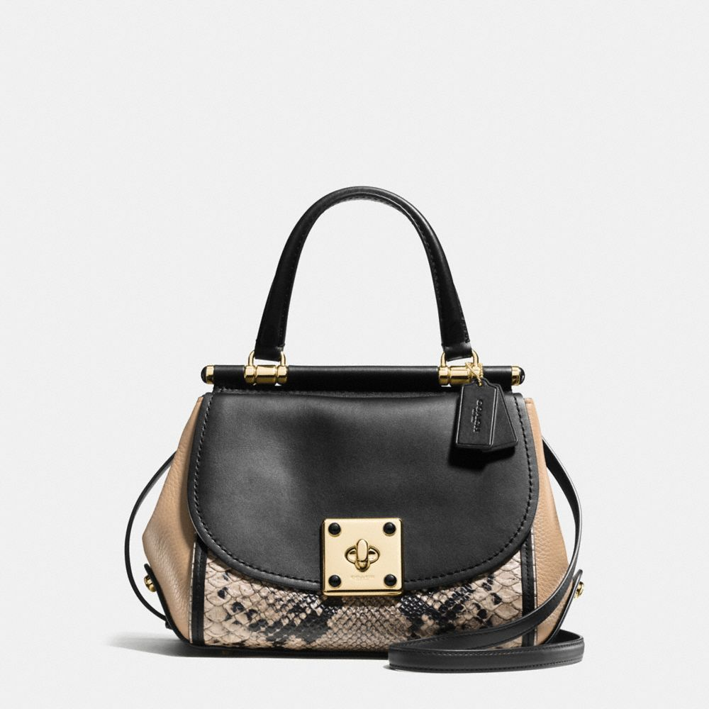 Coach Drifter Top Handle in Colorblock
