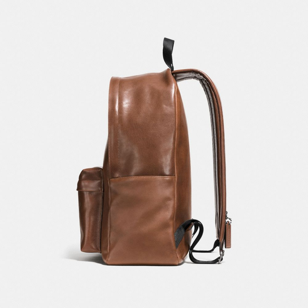 MODERN VARSITY CAMPUS BACKPACK IN SPORT CALF LEATHER - Alternate View A1