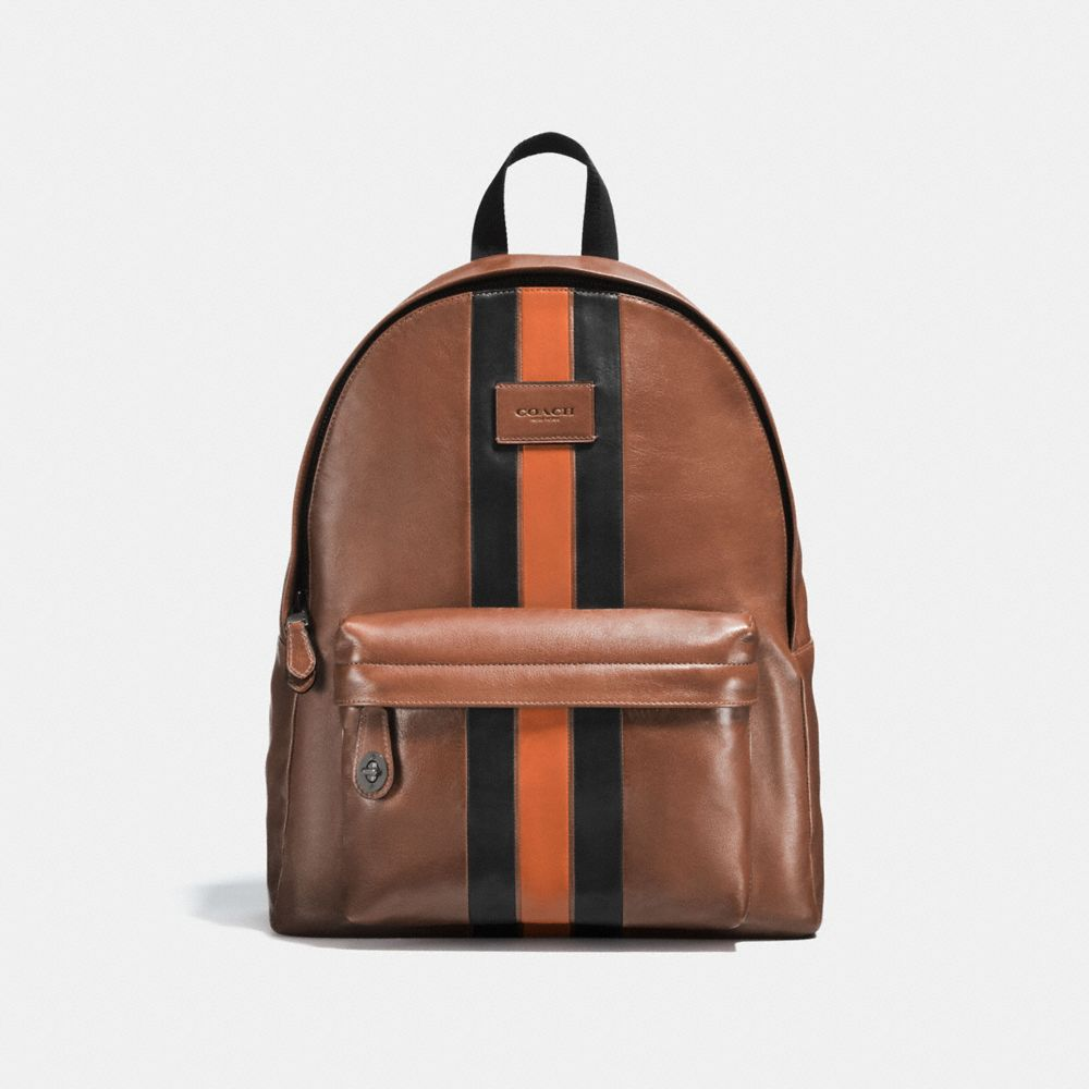 Coach Campus Backpack With Varsity Stripe