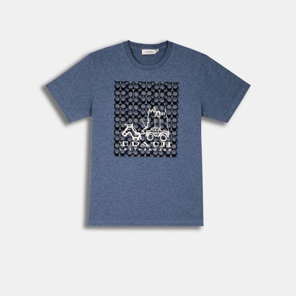 스카이라인 호스 앤 캐리지 티셔츠