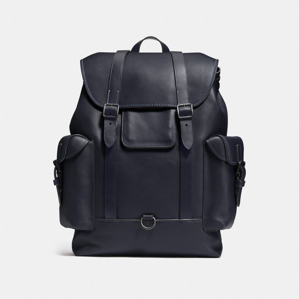 GOTHAM BACKPACK IN GLOVETANNED LEATHER - Alternate View