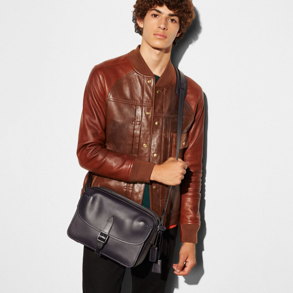Gotham Crossbody in Glovetanned Leather - Alternate View A3