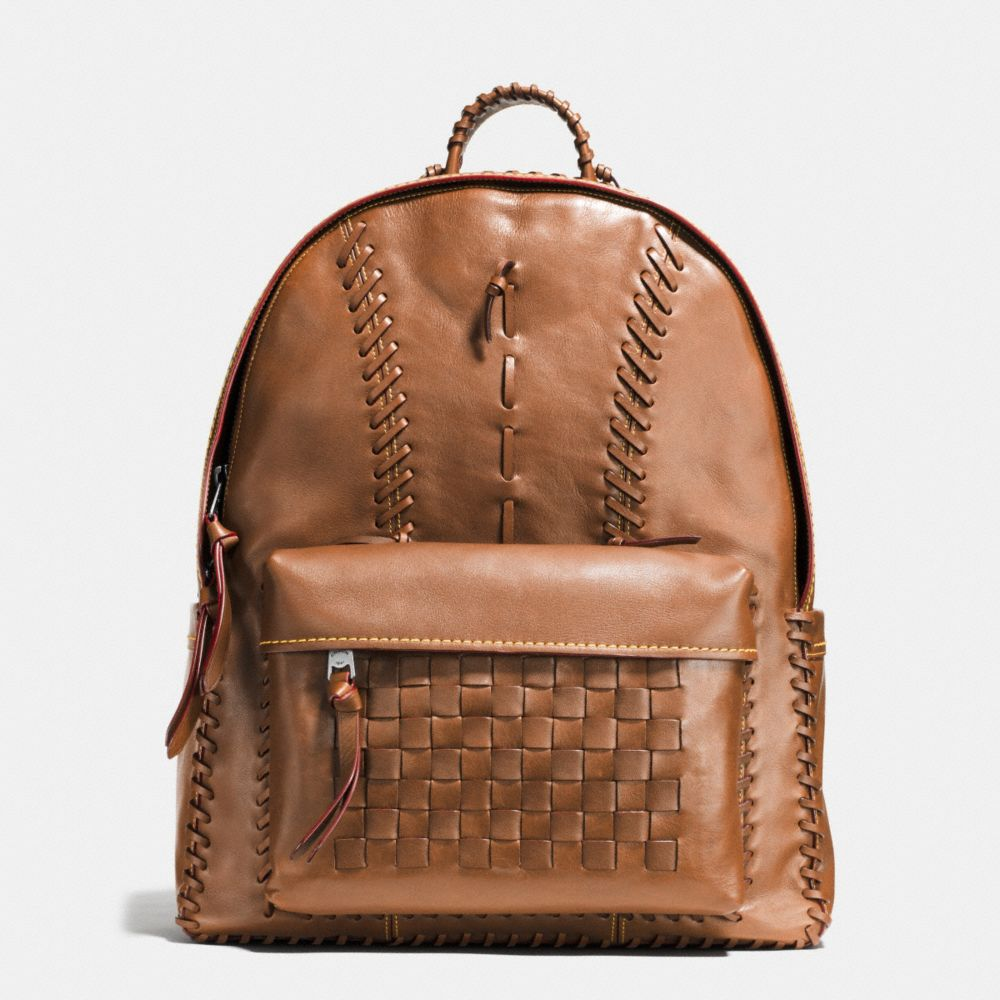 Coach Rip and Repair Campus Backpack in Sport Calf Leather