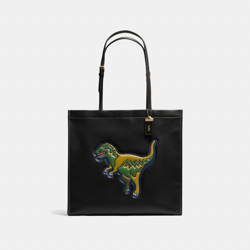 REXY SKINNY 34 TOTE IN GLOVETANNED LEATHER - Alternate View