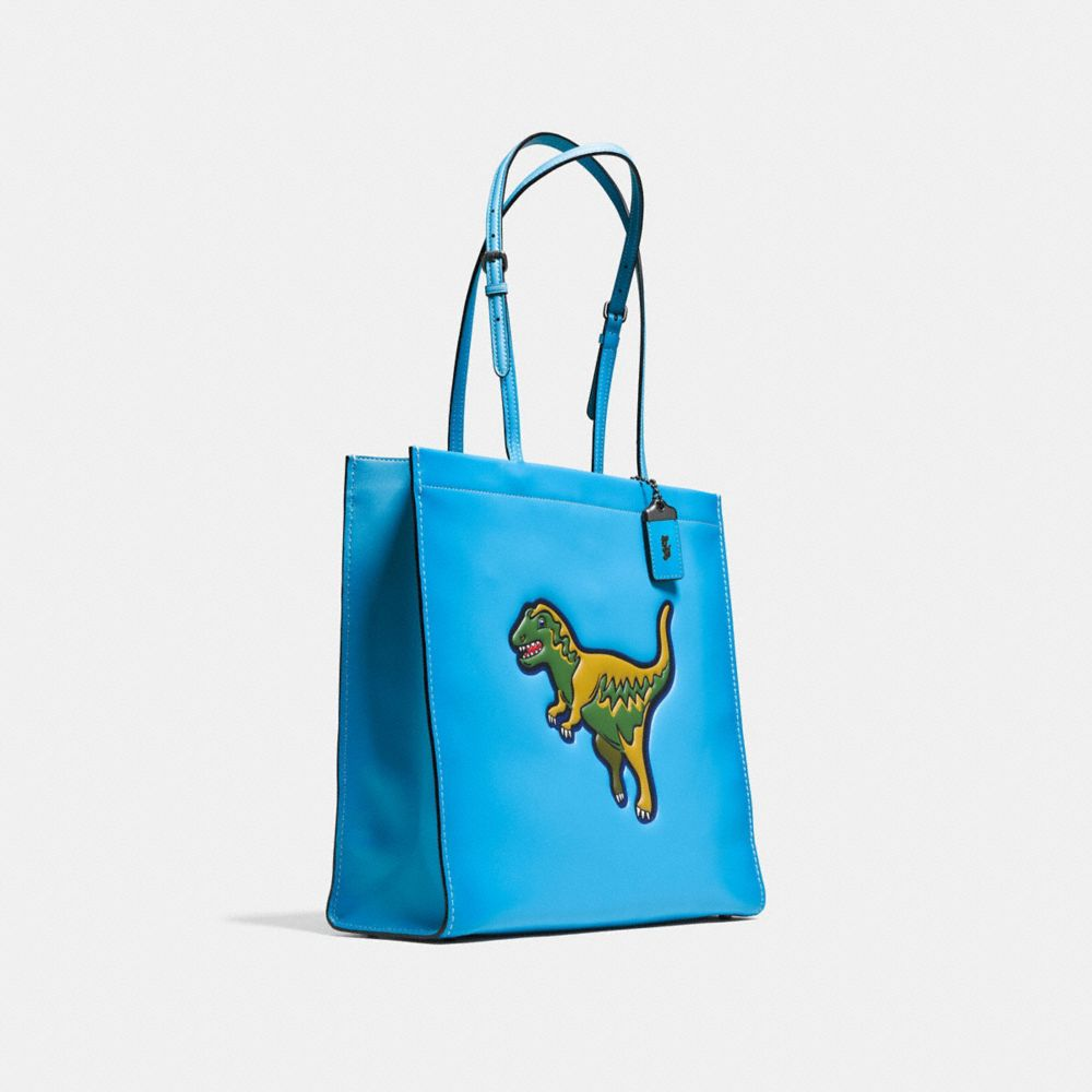 Rexy Skinny Tote in Glovetanned Leather - Alternate View A2